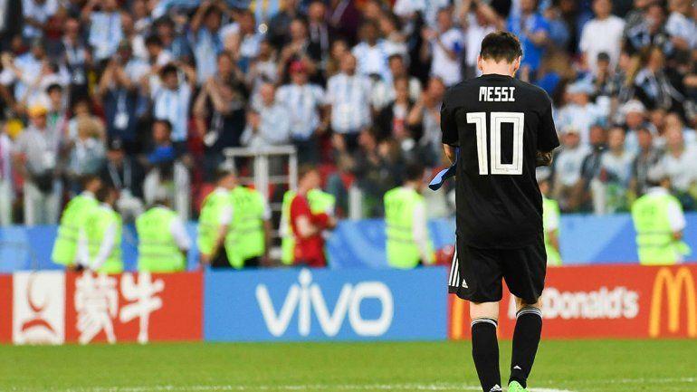 El dolor de Lio Messi: Me siento responsable