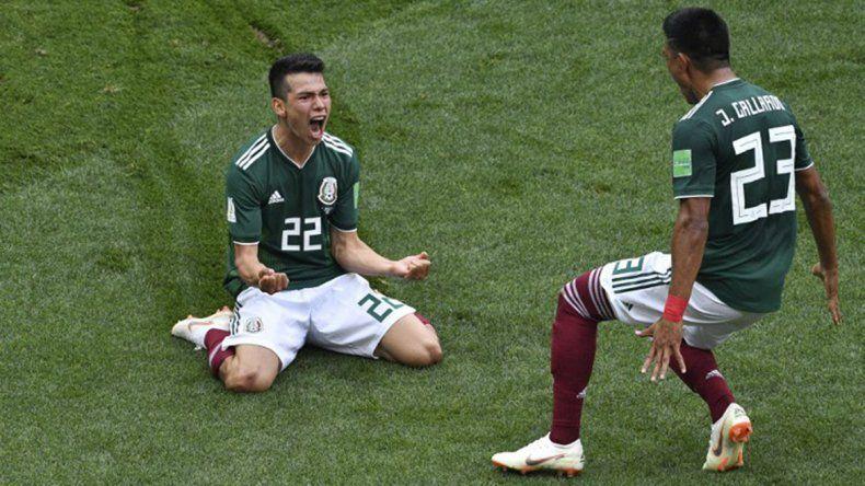 El festejo del gol generó un sismo en Ciudad de México