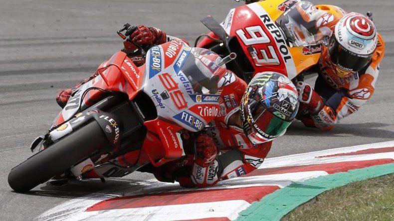 Lorenzo dominó el GP de Cataluña de punta a punta