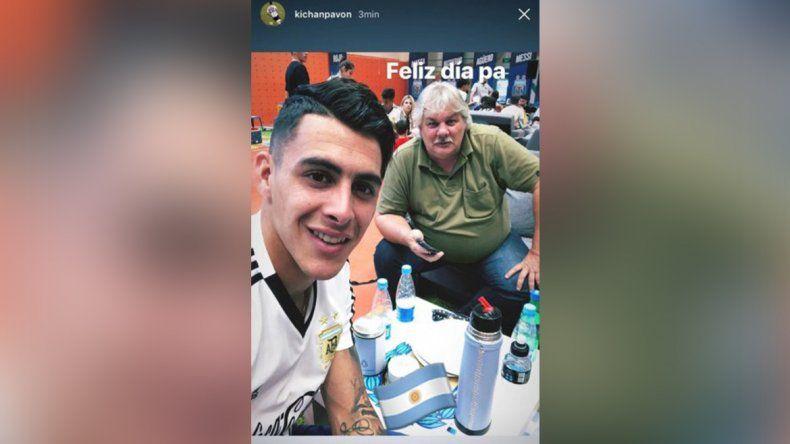 La Selección festejó el Día del Padre en Bronnitsy