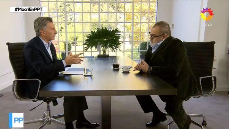 Macri, sobre la crisis cambiaría: Veníamos bien pero de golpe pasaron cosas