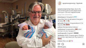 Agustina Picasso compartió la feliz imagen en su Instagram.