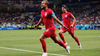 Inglaterra festejó ante Túnez cuando se disputaban los minutos finales.