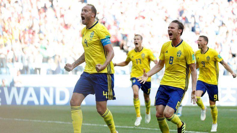El elenco escandinavo se llevó el triunfo en un partido peleado.