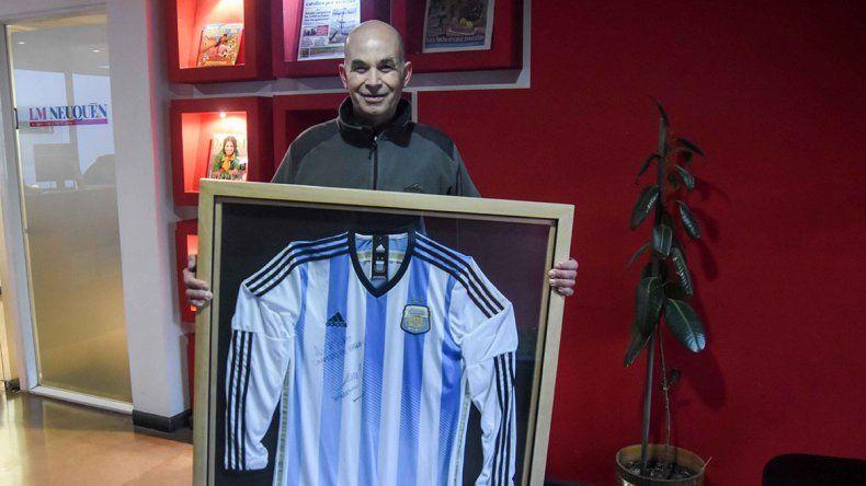 Conocé al ganador de la camiseta de la Selección firmada por Mascherano
