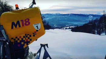 chapelco, sin nieve en las pistas y sin inicio de temporada