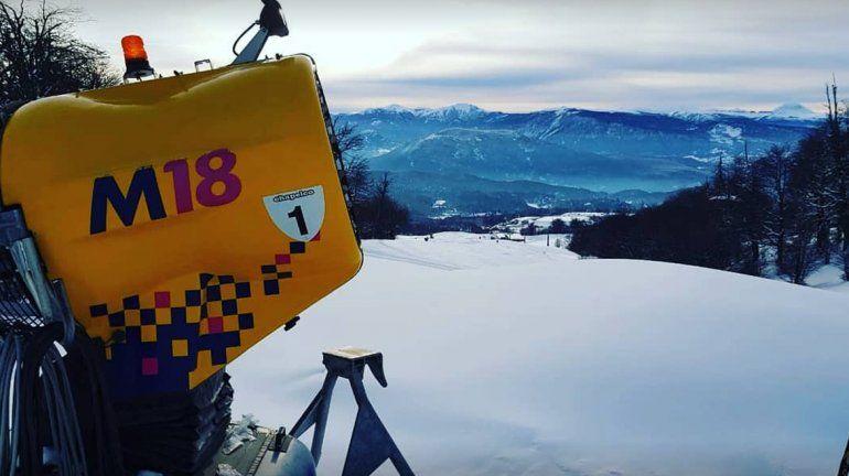 Por falta de nieve en las pistas, postergaron el inicio de temporada en Chapelco