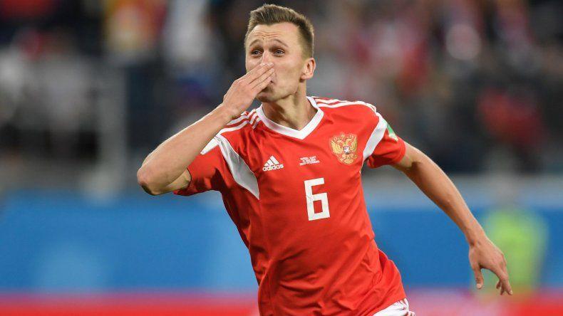 Rusia ganó y ya tiene un pie en octavos