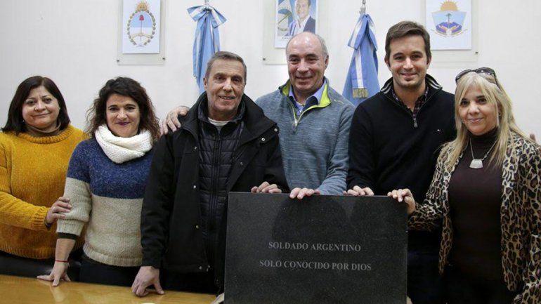 Colocarán la placa del soldado de Malvinas en Plottier