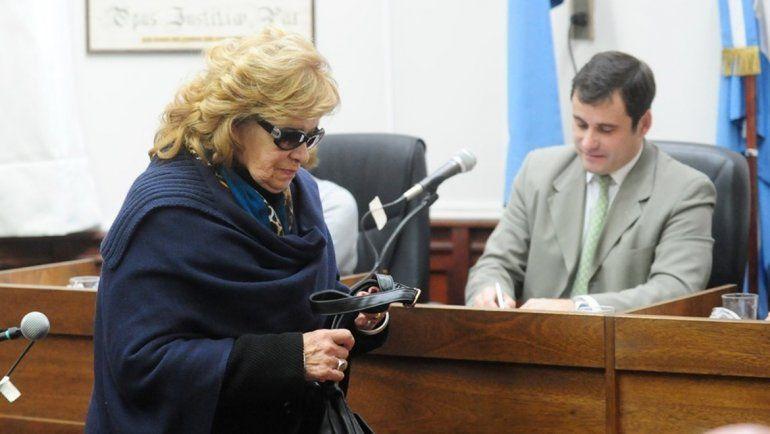 <p>Brígida Gálvez, abuela de Nahir. Foto José Almeida</p>