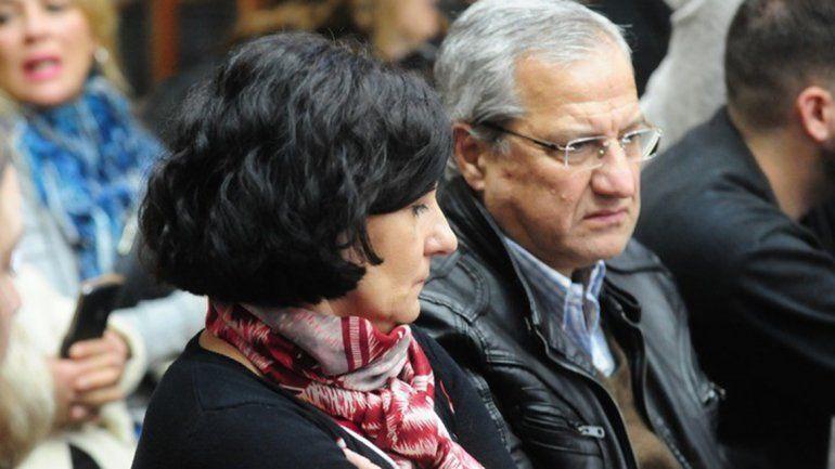 <p>Silvia Mantegazza, mamá de Fernando Pastorizzo, presenció todas las audiencias. Foto: José Almeida</p>
