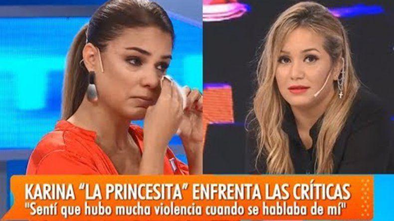 La Princesita se desató e hizo llorar a Marina Calabró