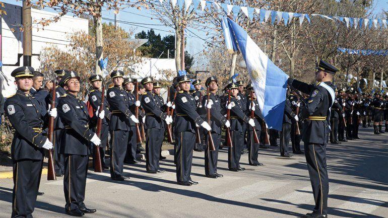 El acto se desarrolló esta mañana en San Patricio del Chañar.