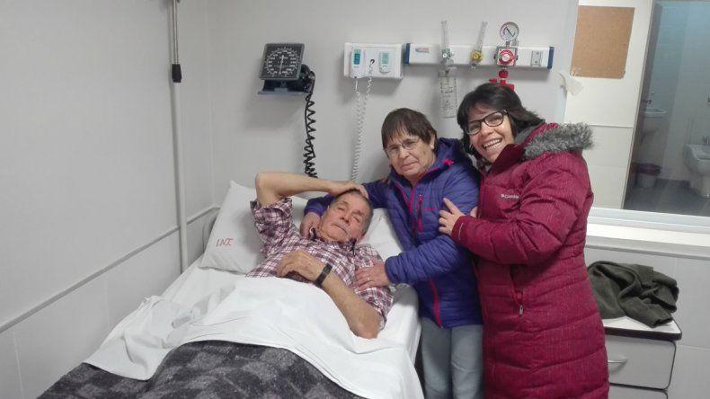 El Bouquet Roldán hizo la primera transfusión de sangre
