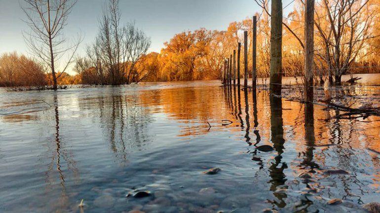 Las inundaciones afectan a Vista Alegre Norte.