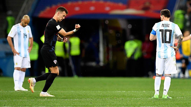 Decepción: Argentina cayó por goleada ante Croacia y quedó al borde de la eliminación