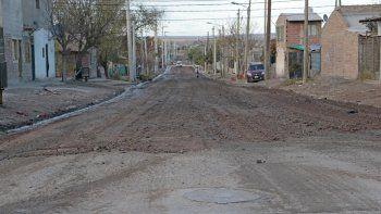 en gran neuquen sur habra otras 80 cuadras con asfalto