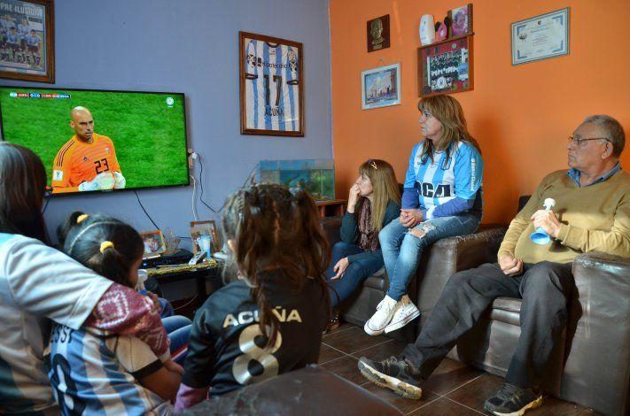 La emoción de la mamá de Acuña por el debut del Huevo en el Mundial