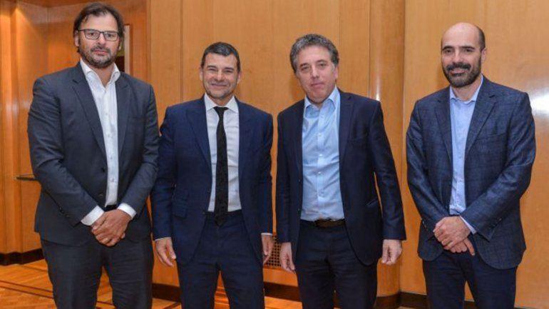 El ministro Dujovne recibió a Galuccio y Remy