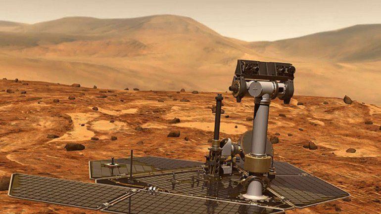 Alarma en la NASA por una tormenta en Marte
