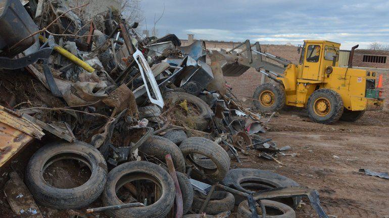 Desactivan gigantesca chacarita en El Progreso