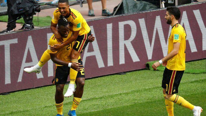 Bélgica goleó 5 a 2 a Túnez y acaricia octavos de final