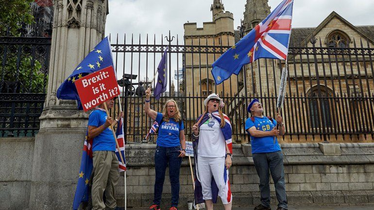 Brexit: marcha por referéndum