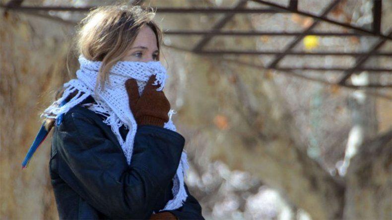 Ni gorros ni bufandas alcanzaron a aliviar la sensación térmica de -5,3 °C