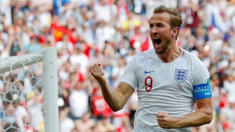 Harry Kane es el gran goleador del conjunto inglés.