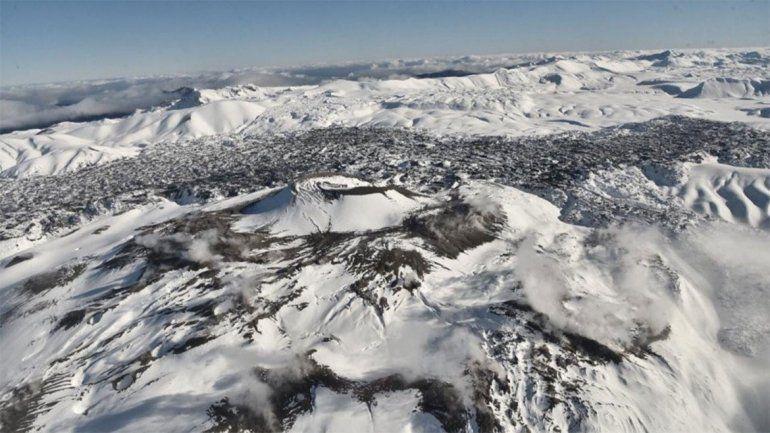 Estas son las últimas imágenes tomadas al volcán.