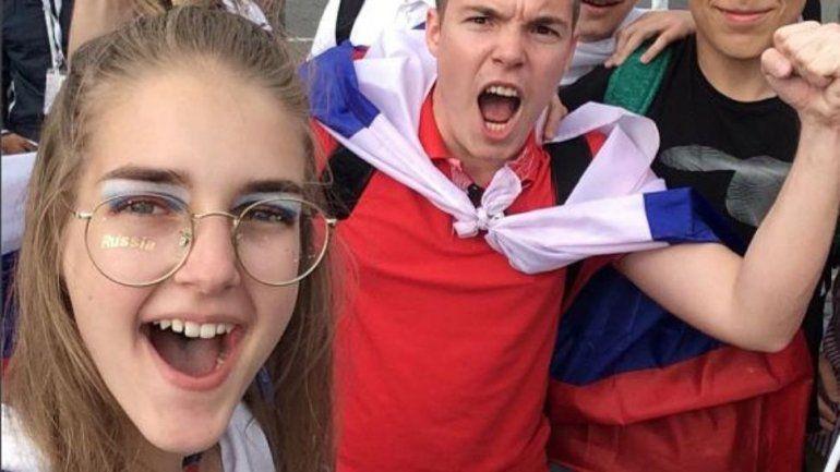Habló la joven rusa humillada por un argentino