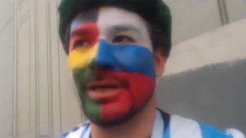 El argentino que llena de color las calles de Rusia