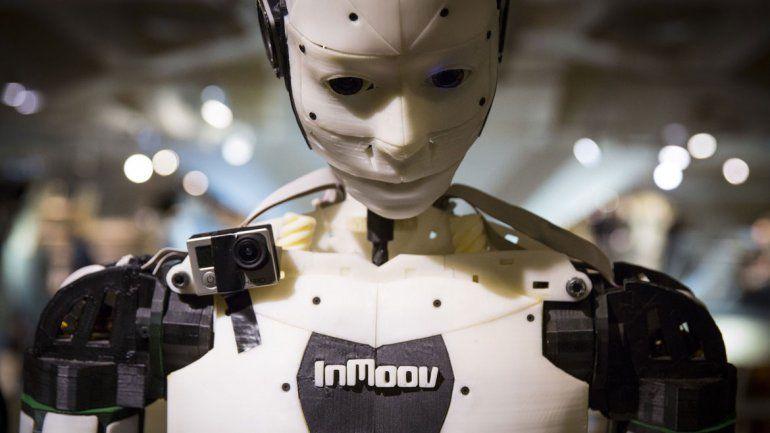 La primera estructura de un autómata de tamaño humano fue creada hace siete años en Francia por Langevin.
