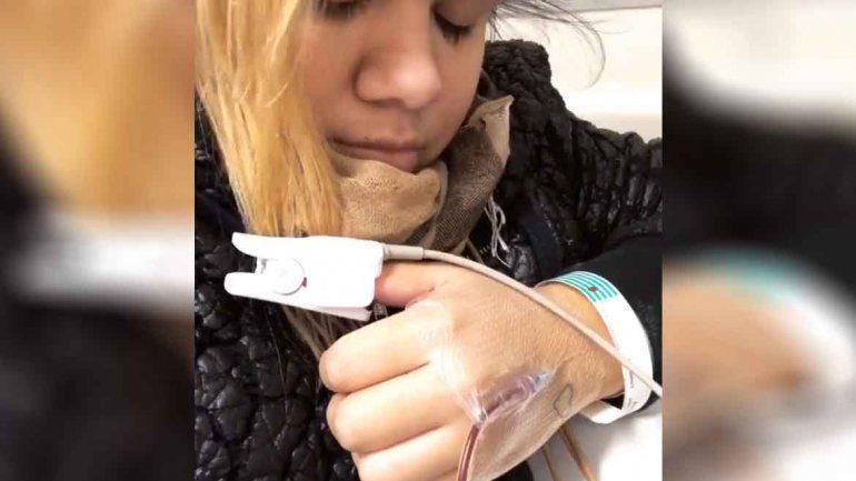 Morena Rial fue internada de urgencia en medio del escándalo