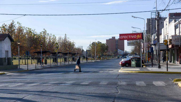 La ciudad lució vacía por la fuerza del paro de la CGT