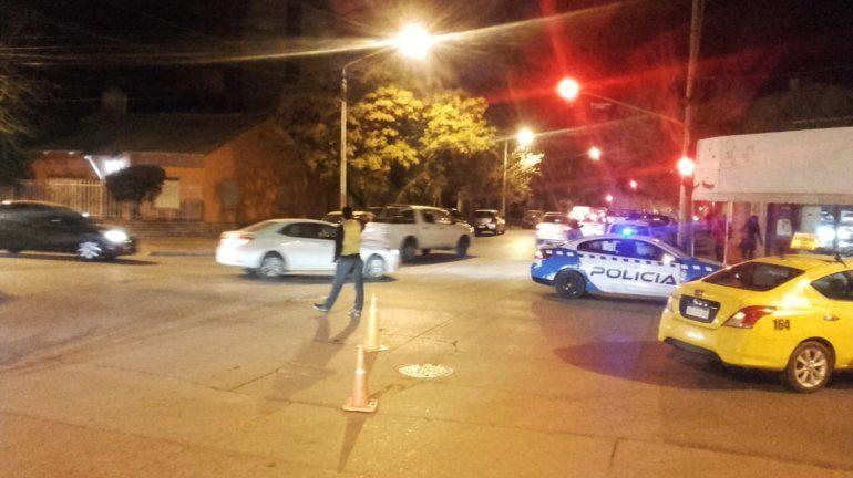 Un peatón resultó herido tras ser atropellado por un taxi