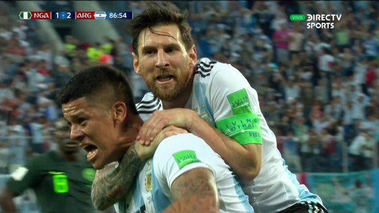 La euforia de los famosos por el triunfo de Selección frente a Nigeria