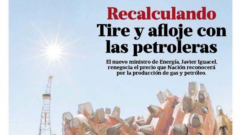 Recalculando: tire y afloje con las petroleras