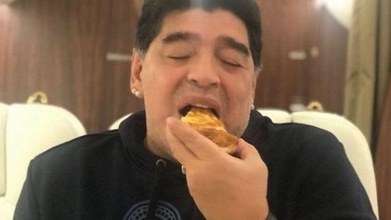 El propio Maradona desmintió el audio viral sobre su salud