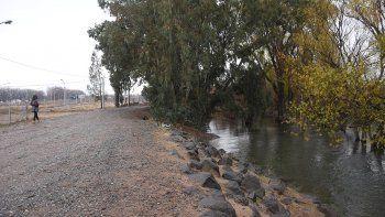 Toman medidas para una próxima crecida del río