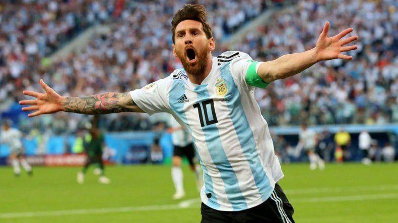 El ídolo del Barcelona fue clave en el triunfo de la Selección. Que siga enchufado ante Francia.