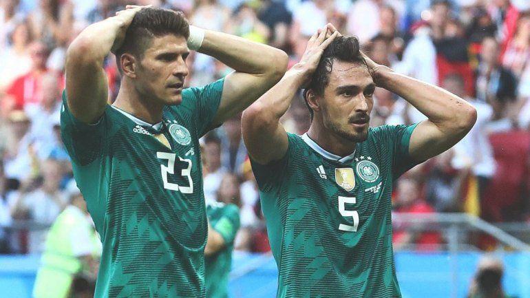 Chau campeón: Alemania quedó eliminada del Mundial