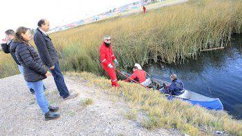 Limpian la laguna de San Lorenzo y el Parque del Oeste