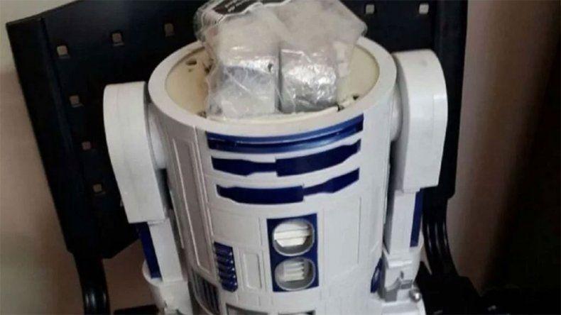 Traficaban cocaína dentro de muñecos de Arturito de Star Wars