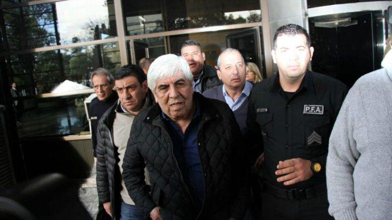 Moyano se presentó ayer ante el juez federal Sánchez Freytes.