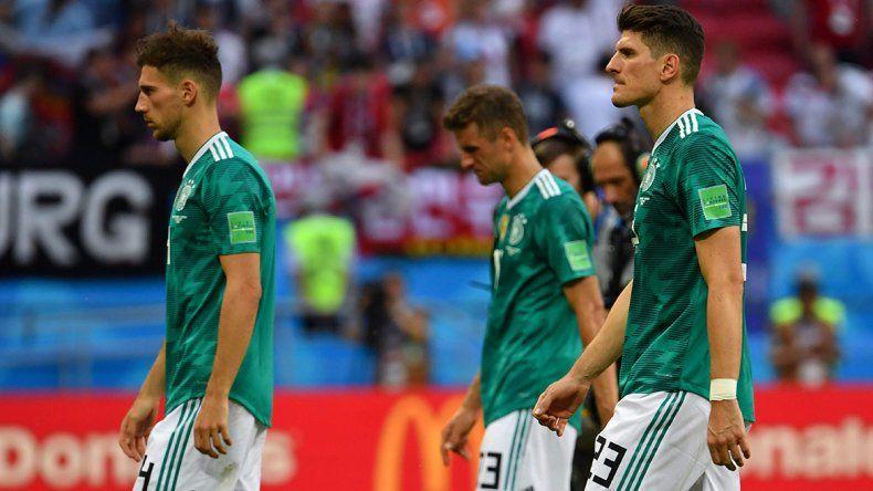 Alemania se coronó en Brasil 2014 pero ayer quedó afuera en primera ronda ante Corea. Cosa de locos.