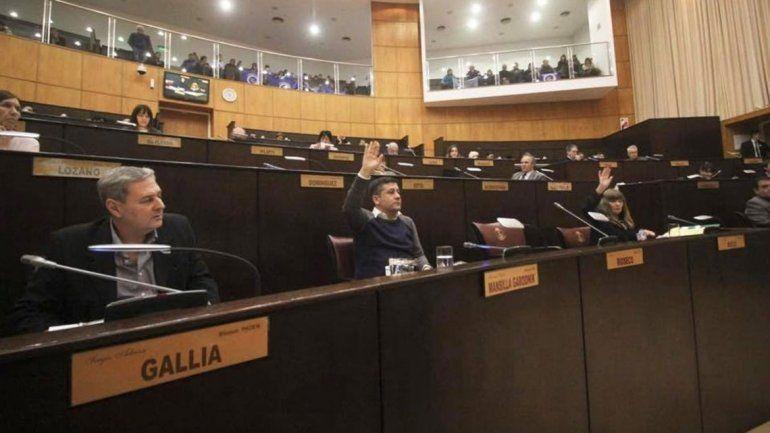 La Legislatura no trató el proyecto de ley de garrafas