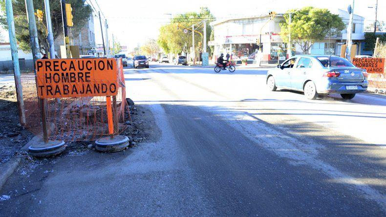 Una obra en calle San Martín modificará el tránsito y el recorrido de 4 colectivos