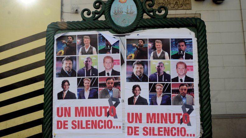 Piden un minuto de silencio contra periodistas deportivos