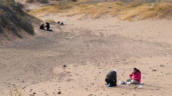 Descubrieron un asentamiento humano en Senillosa de 4500 años